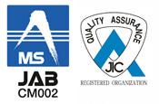 ISO9001:2000 認証取得 ISO9001:2008 認証取得 (本社・本社営業所)